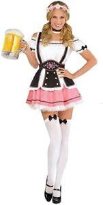 Octobermiss Women's Adl Plus Bar Maid Beer Girl Costume Oktoberfest Gretchen NIP