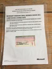 Small Business Server 2011 Standard / SBS /  user CAL  mit MwSt Rechnung !