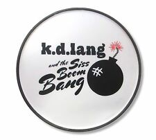 K.D. Lang and the Siss Boom Bang Cherry Bomb Circular Magnet Official Blues KD