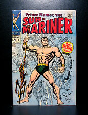 COMICS:Marvel: Sub-Mariner #1 (1968), 1st SA solo series in title/Premiere Issue