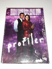 Profiler - Season 4 (DVD, 2004) RARE A&E