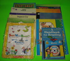 12 Teaching Books Start Smart Scholastic Reading Writing Math Spelling Numbers