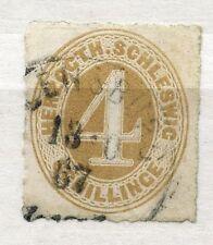Schleswig-Holstein & Lauenburg Nr: 17 Gestempelt  KW 100,- M���