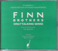 Crowded House FINN BROTHERS Only Talking Sense PROMO DJ CD single USA 1995
