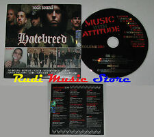 CD ROCK SOUND 100 PROMO hatebreed antianti dufresne cursive unearth (S4)