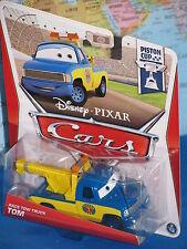 DISNEY PIXAR CARS RACE TOW TRUCK TOM #2/18 PISTON CUP ***BRAND NEW & RARE***
