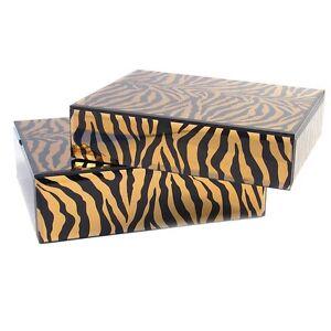 Large Mirror Box Nest 2 - Tiger
