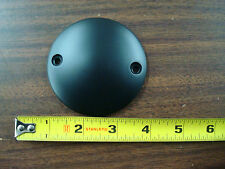 BLACK DOMED POINT COVER FOR HARLEY XL SPORTSTER 1971 & UP & BIG TWIN 70 - 99