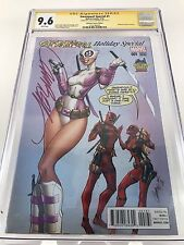 Gwenpool Special #1 CGC 9.6 SS Signed J. Scott Campbell