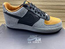 """2012 Nike Air Force 1 Low Supreme """"Safari"""" NEW MEN max RARE 318776-801 US 10.5"""