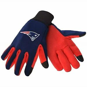 NFL New England Patriots Team Texting Technology Gloves