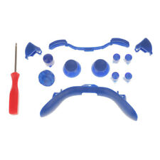 Blue Custom Wireless Game Controller Shell Case Cover Kit for Xbox 360