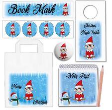 Red Elf Christmas Goody Bag & Fillers - Elf Santa Gift - Stocking Filler - Party