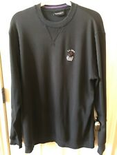Ashworth Golf US Open Bethpage Black 2009 Large Black Pullover Long Sleeve