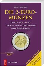 DIE 2 EURO MÜNZEN Katalog der Umlauf und Sondermünzen Münzkatalog BUCH 2020 NEU