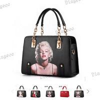 Marilyn Monroe Women Handbag Shoulder Bag Hobo Chain Totes Shoppers High Quality