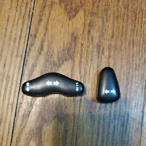 OEM 99-13 Nissan Infiniti Power Seat Switch Lever Black With Arrows