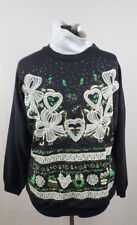 Nut Cracker women's Black Pullover Turtle neck Christmas Sweatshirt