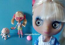 "Littlest Pet Shop Blythe Doll Pet Lot  ""Hiking Trip"" Mini Blythe #152 Pet Poodle"