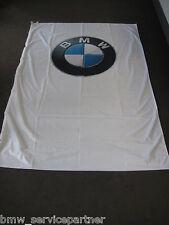Original BMW Außenfahne Fahne Flagge Logo 150x450cm Sondermaß NEU