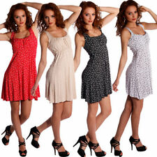 Damenkleider mit Rundhalsausschnitt-Casual in Größe 38