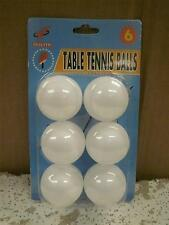 New Toy Closeouts- 1.49 Each- Mix & Match- Pack Of 6 Table Tennis Balls- L86