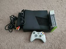 New listing Xbox 360 S Model 1439 * Tested * (No Hard Drive) + 1 controller (Halo Bundle)