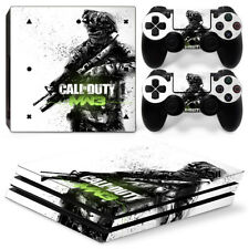 Sony PS4 Pro Console and Controller Skins / Decal -- COD MW3 (P-0001)