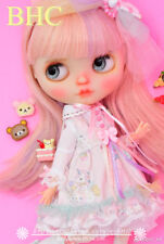 BHC FN709 Pink Unicorn Dress Set for Kenner Blythe doll outfit