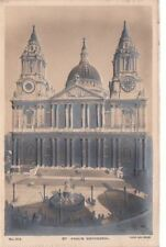 Postcard Rppc St Paul's Cathedral Uk