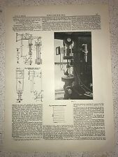 Photo Of Optical Load Extension Indicator: 1912 Engineering Magazine Print