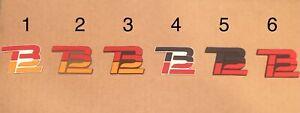Tom Brady TB12 Logo For Schutt Riddell Speed Flex Riddell Speed Choose 1 Only