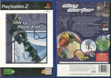 JEU PLAYSTATION 2 PS2 - SKY SURFER SURF SKI VAGUE CIEL / EN FRANCAIS