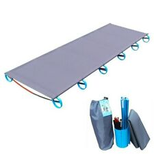 Outdoor Camping Mat Ultralight Sturdy Comfortable Portable Single Folding Bed