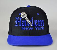 """""""Harlem MC"""" custom bling snapback cap"""