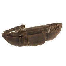GreenBurry Gürteltasche Rind-Leder Bauchtasche Hüfttasche 1743