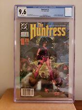 DC The Huntress 1 1989 1st HELENA BERTINELLI Birds of Prey CGC 9.6