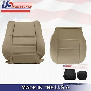 Upper Top Perforated Leather Seat Cover For Nissan Pathfinder 2001 to 2004