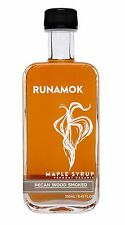 Runamok Maple - Pecan Wood Smoked Maple Syrup - Vermont Organic