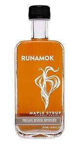 Runamok Maple - Smoked with Pecan Wood Maple Syrup - Vermont Organic