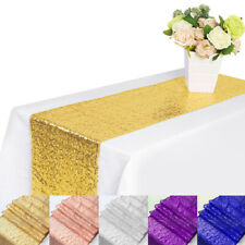 1/5/10Pc Sparkly Sequin Table Runners Wedding Party Banquet Decor 12x71