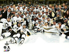 Pittsburgh Penguins CELEBRATION ON ICE 2016 Stanley Cup Champs Premium POSTER