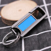 Rectangular Stainless steel Quick release Detachable Key Chain Belt Ring  TCE