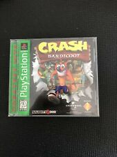 Crash Bandicoot (Sony PlayStation 1, Ps1 1996) Greatest Hits - Complete