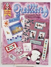 Quilling Paper Arts Book Scrapbook Titles Filigree Scrolling Pattern How To