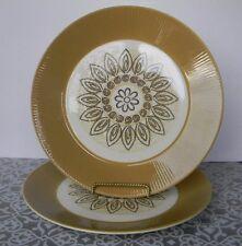 Vintage Homer Laughlin MALIBU 10 Inch Dinner Plates- set of 2- MCM Retro look