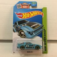 Mazda RX-7 #193 * TEAL Kmart Only * 2015 Hot Wheels * YB21