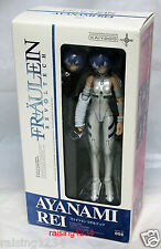 KAIYODO Revoltech Evangelion Ayanami Rei Action Figure with Lance of Longinus