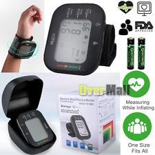 Automatic Digital Cuff Wrist Blood Pressure Monitor BP Gauge Machine Test Meter