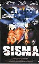 SISMA (2001) VHS CVC  Jessica Steen John Corbett Mario Azzopardi   UNICA eBay